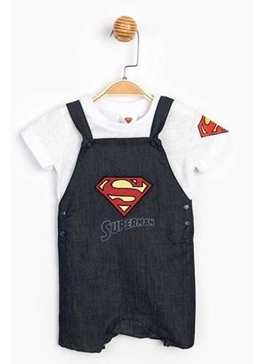 Superman  Salopet Takım 15555 Mavi